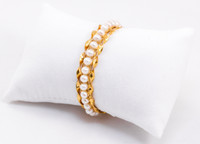 YELLOW GOLD BABY BANGLE, YGBABY0016, 21K, Size: Child Large, Weight: 17.2g