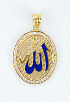 YELLOW GOLD PENDANT, 21K, Weight:5.5g, YGPEND0353