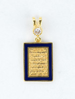 YELLOW GOLD PENDANT, 21K, Weight:2.4g, YGPEND0359