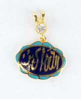 YELLOW GOLD PENDANT, 21K, Weight:2.1g, YGPEND0360