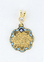 YELLOW GOLD PENDANT, 21K, Weight:2.4g, YGPEND0361