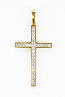 YELLOW GOLD PENDANT, 21K, Weight:4.1g, YGPEND0369