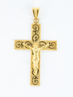 YELLOW GOLD PENDANT, 21K, Weight:17.9g, YGPEND0371