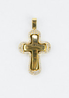 YELLOW GOLD PENDANT, 21K, Weight:5.4g, YGPEND0374