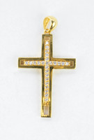 YELLOW GOLD PENDANT, 21K, Weight:5.4g, YGPEND0376
