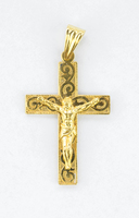 YELLOW GOLD PENDANT, 21K, Weight:6.3g, YGPEND0378
