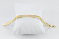 YELLOW GOLD BRACELET, 21K, Weight: 12.2g, YG21BRA274