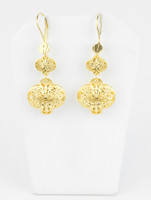 YELLOW GOLD EARRINGS, 21KT, Weight: 6.5g, YGEARRING21K00107