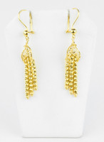 YELLOW GOLD EARRINGS, 21KT, Weight: 6g, YGEARRING21K00108