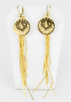 YELLOW GOLD EARRINGS, 21KT, Weight: 10.7g, YGEARRING21K00111