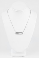 WHITE GOLD PENDANT, 18K, Weight:6.2g, WGPEND020