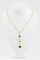 YELLOW GOLD NECKLACE, 21K, Weight:8.1g, YGNECKLACE046