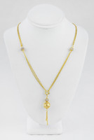 YELLOW GOLD KNECKLACE, 21K, Weight:11.2g, YGNECKLACE053