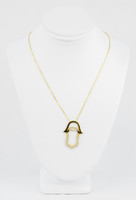 YELLOW GOLD KNECKLACE, 21K, Weight:4g, YGNECKLACE057