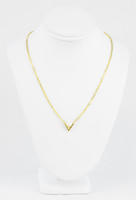 YELLOW GOLD KNECKLACE, 21K, Weight:5g, YGNECKLACE058