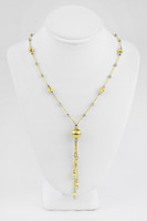 YELLOW GOLD KNECKLACE, 18K, Weight:9.1g, YGNECKLACE062