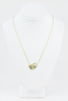 YELLOW GOLD KNECKLACE, 18K, Weight:3.6g, YGNECKLACE065