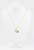 YELLOW GOLD KNECKLACE, 18K, Weight:3.5g, YGNECKLACE066