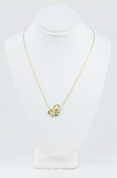 YELLOW GOLD KNECKLACE, 18K, Weight:3.2g, YGNECKLACE067