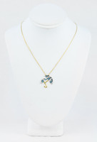 YELLOW GOLD KNECKLACE, 18K, Weight:3.8g, YGNECKLACE069