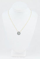 YELLOW GOLD KNECKLACE, 18K, Weight:2.9g, YGNECKLACE071