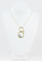 YELLOW GOLD NECKLACE, 18K, Weight:5g, YGNECKLACE18K075