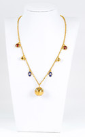 YELLOW GOLD NECKLACE, 21K, Weight:13.17g, YGNECKLACE21K085