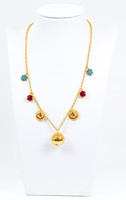 YELLOW GOLD NECKLACE, 21K, Weight:14.2g, YGNECKLACE21K088