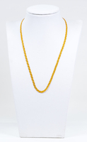 YELLOW GOLD NECKLACE, 21K, Weight:8.5g, YGNECKLACE21K090