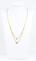 YELLOW GOLD NECKLACE, 21K, Weight:6.6g, YGNECKLACE21K092