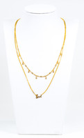 YELLOW GOLD NECKLACE, 21K, Weight:11.6g, YGNECKLACE21K093
