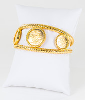 YELLOW GOLD BANGLES, 21K, Weight: 49.6g, YGBANGLE109