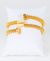 YELLOW GOLD BANGLES, 21K, Weight: 31.3g, YGBANGLE111