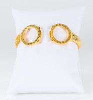 YELLOW GOLD BANGLES, 21K, Weight: 64.2g, YGBANGLE112