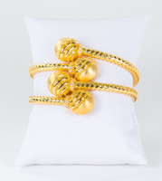 YELLOW GOLD BANGLES, 21K, Weight: 72.8g, YGBANGLE113