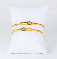 YELLOW GOLD BANGLES, 21K, Weight: 23.6g, YGBANGLE115
