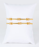 YELLOW GOLD BANGLES, 21K, Weight: 23.39g, YGBANGLE117