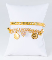 YELLOW GOLD BANGLES, 21K, Weight: 41g, YGBANGLE118
