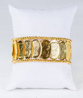 YELLOW GOLD BANGLES, 21K, Weight: 42.8g, YGBANGLE120