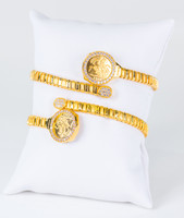 YELLOW GOLD BANGLES, 21K, Weight: 44.7g, YGBANGLE121