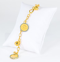 YELLOW GOLD BRACELET, 21K, Weight: 15.3g, YGBRAC326