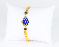 YELLOW GOLD BRACELET, 21K, Weight: 10.5g, YGBRAC327