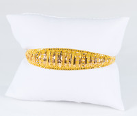 YELLOW GOLD BRACELET, 22K, Weight: 14.9g, YGBRAC329