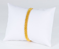YELLOW GOLD BRACELET, 22K, Weight: 9.2g, YGBRAC337