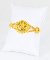 YELLOW GOLD BRACELET, 22K, Weight: 12.9g, YGBRAC339