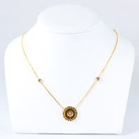 YELLOW GOLD NECKLACE, 21K, Weight:7.9g, YGNECKLACE21K098