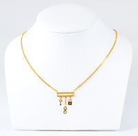 YELLOW GOLD NECKLACE, 21K, Weight:6.6g, YGNECKLACE21K099