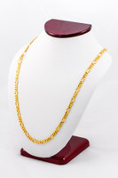 YELLOW GOLD CHAINS, 21K-YGCHAIN011, Size:Large, Weight:0g