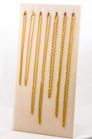 YELLOW GOLD CHAINS, 21K-YGCHAIN057, Size: Vary, Weight: Vary