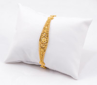 "YELLOW GOLD BRACELETS, 21K, Size:7.5"", Weight:8.7g, YG21BRA012"